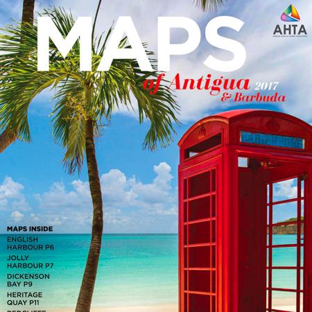 Maps of Antigua & Barbuda