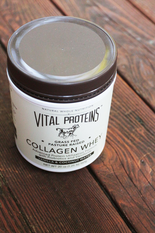 vital proteins vanilla collagen whey