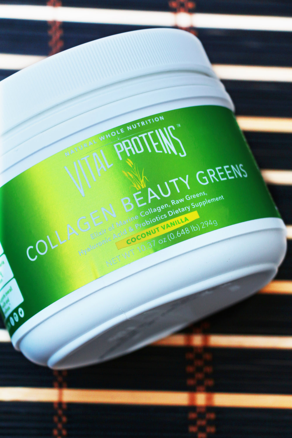 vital proteins collagen beauty greens
