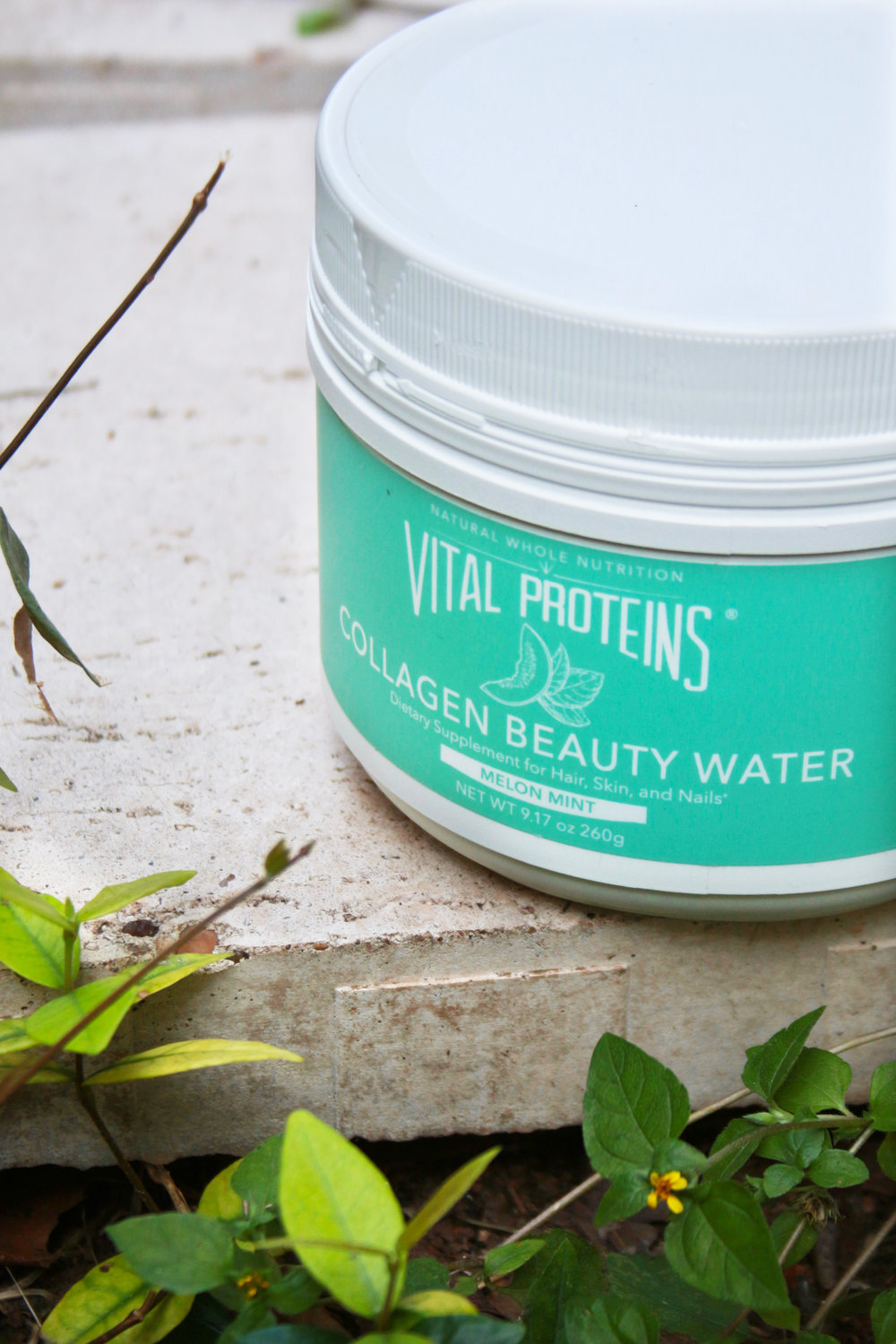 Vital proteins melon mint collagen beauty water