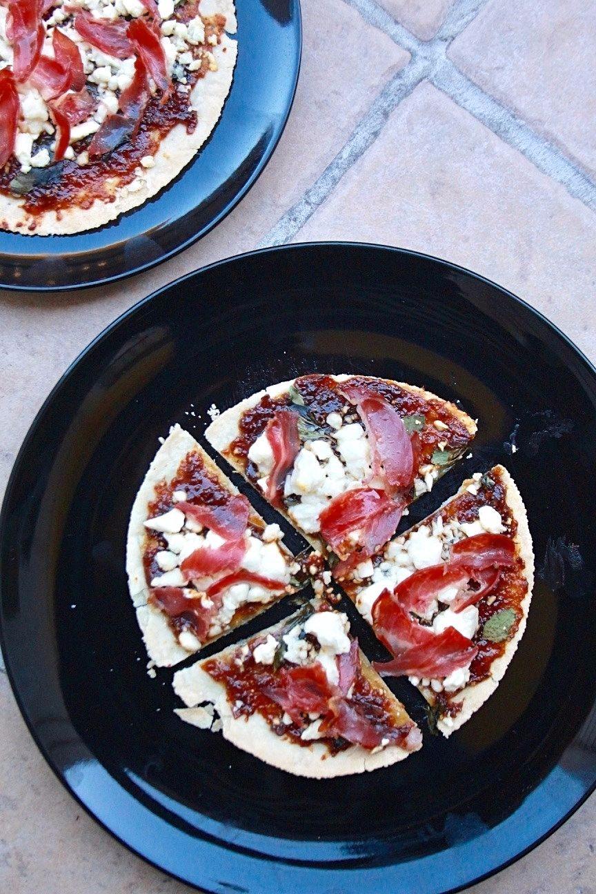 mini fig pizza paleo