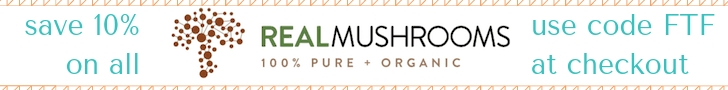 discount on real mushrooms supplements