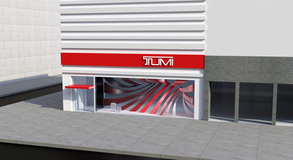 Tumi Window Display