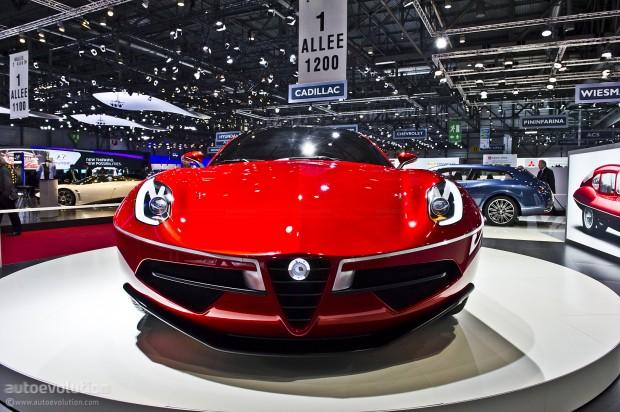 Disco Volante Touring Concept 2012 Alfa Romeo Designcollector