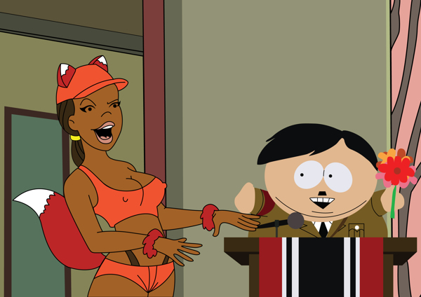 Cartman and Foxie: The Tolerance Day by Vladislav Poliakov