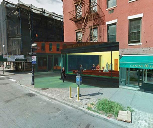 Edward Hopper (1942) – New York