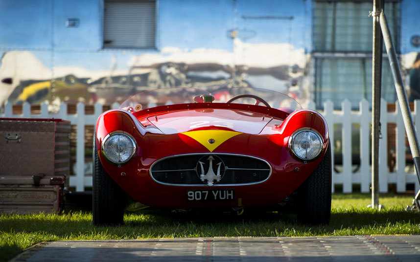 Stunning image of the magnificent Maserati A6GCS of Manuel Elicabe Picture: MATT JACQUES