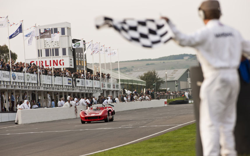 Not for nothing is the Goodwood Revival described as a magical step back in time - but it never wallows in nostalgia Picture: DREW GIBSON