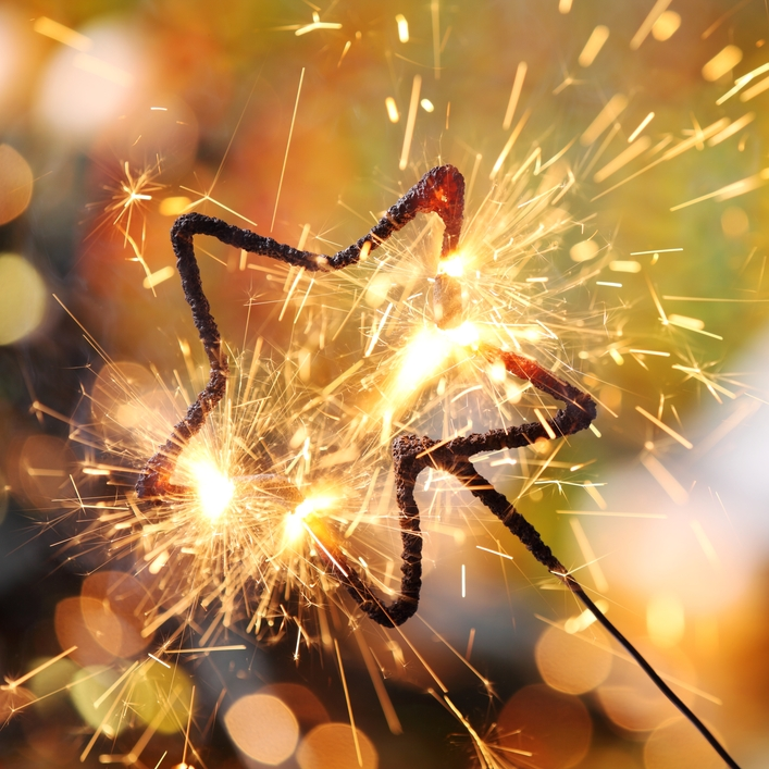 Star sparkler