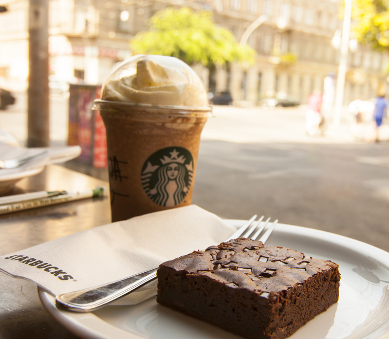 Brownie and Coffee