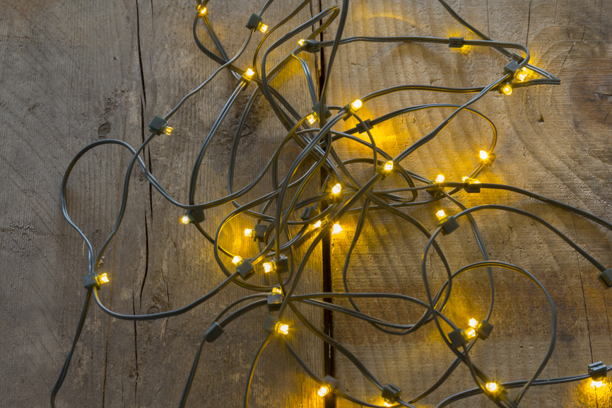 Electric Christmas tree lights
