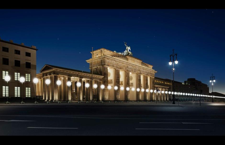 berlin-wall-Lichtgrenze