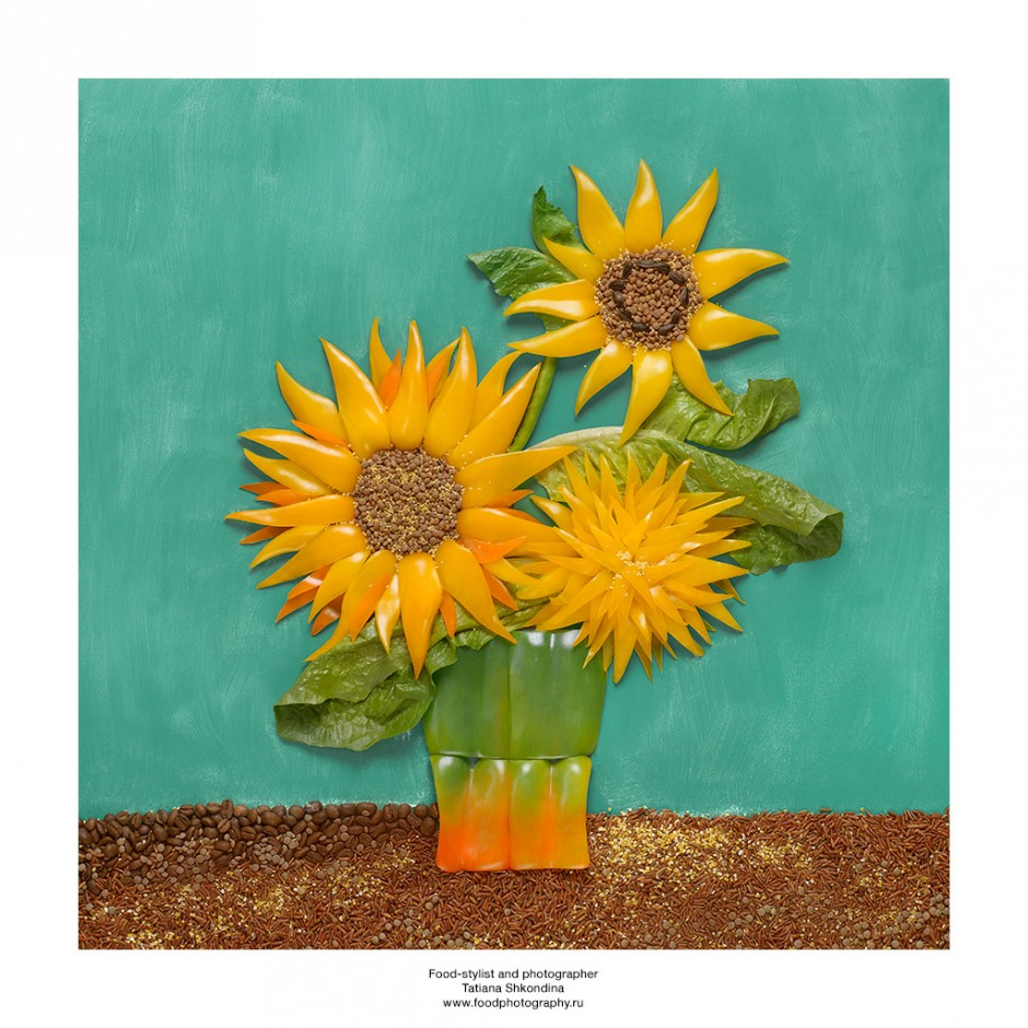 Vincent Van Gogh. Peppers, lentils