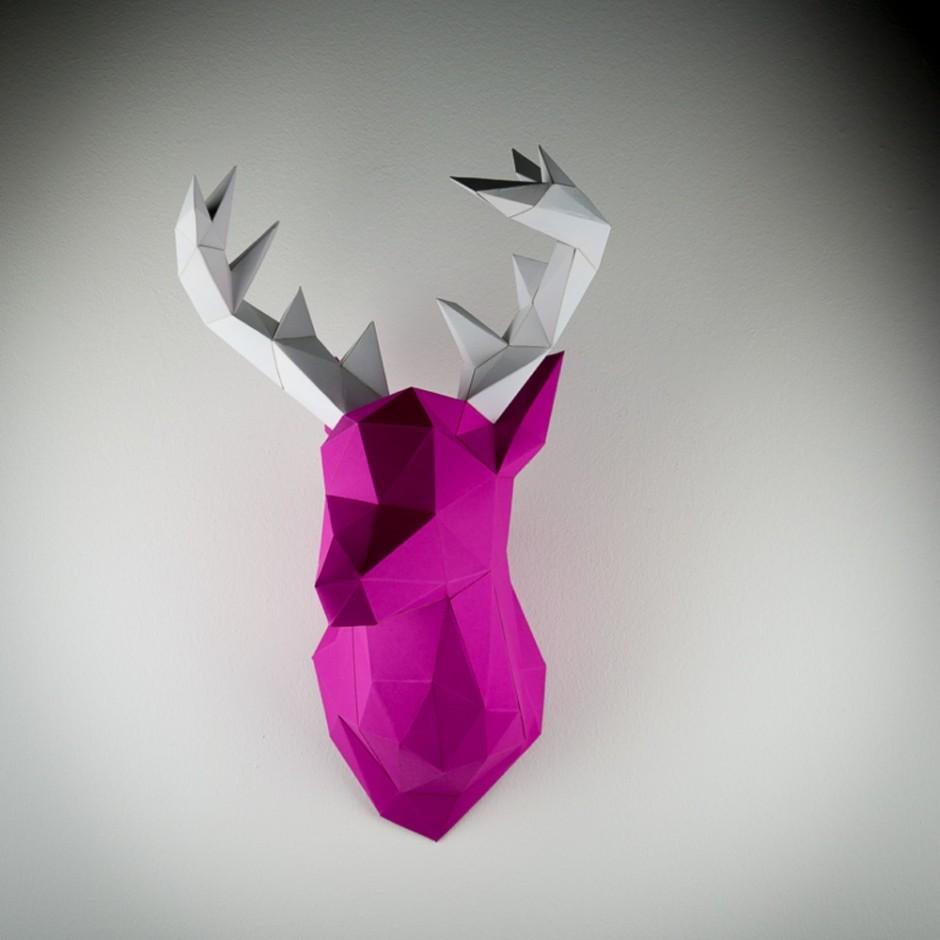Papertrophy Deer pink