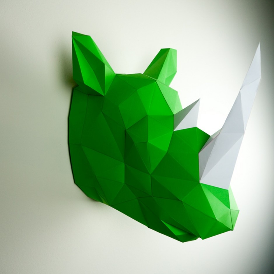 Papertrophy rhino