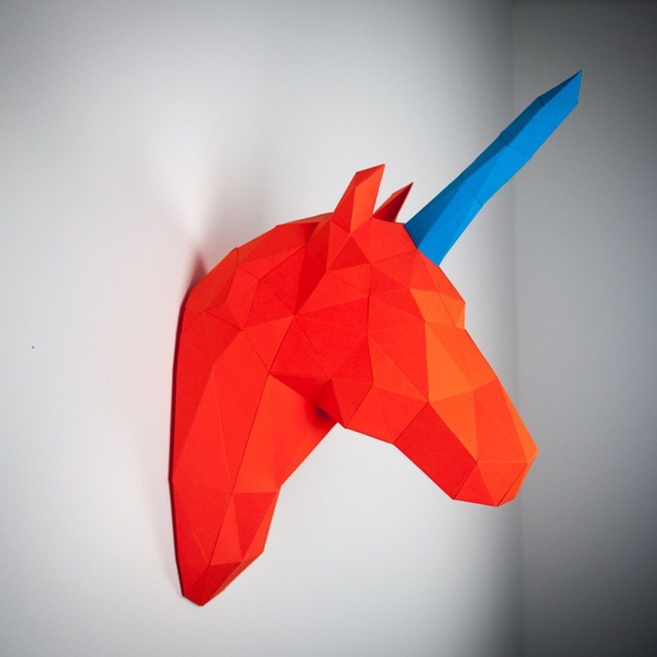 Papertrophy unicorn