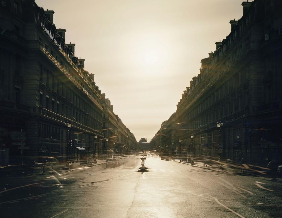 Avenue de l'Opéra, Paris. 2013