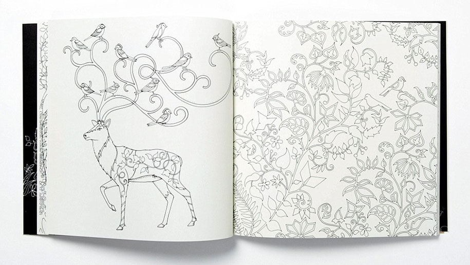 Colouring Books for Adults — Designcollector