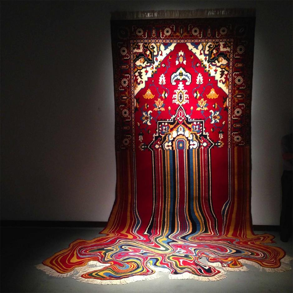 Glitch Carpet Art By Faig Ahmed Designcollector