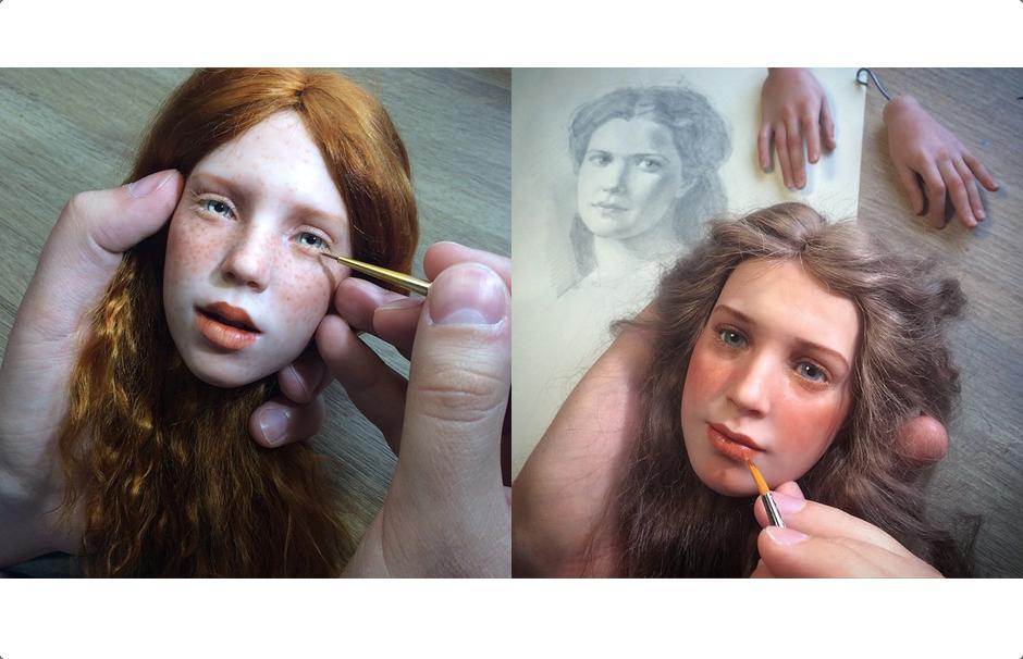 hyper realistic dolls by michael zajkov designcollector