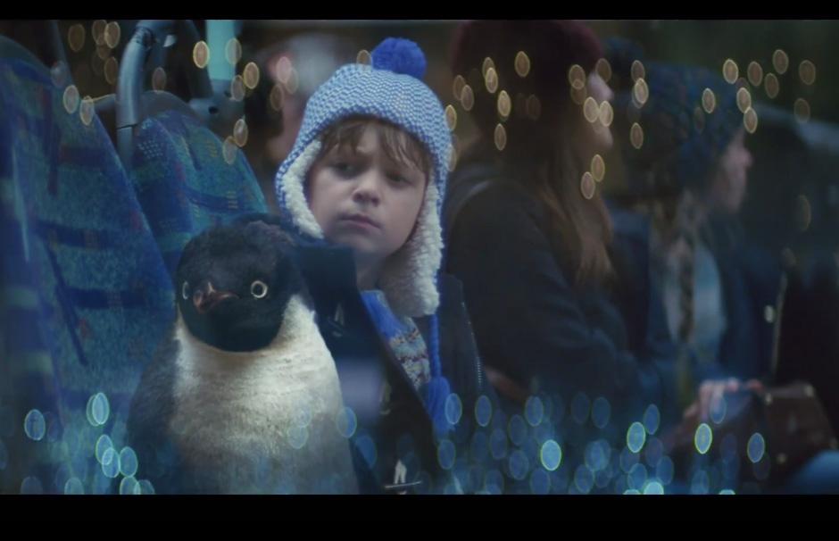 John Lewis Christmas Advert 2014 - #MontyThePenguin — Designcollector