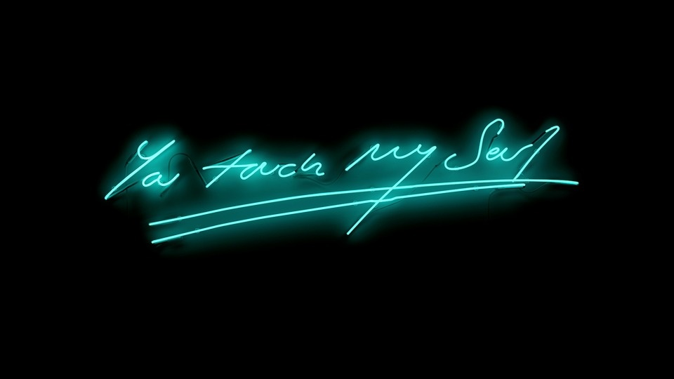 Tracey Emin,  You Touch My Soul