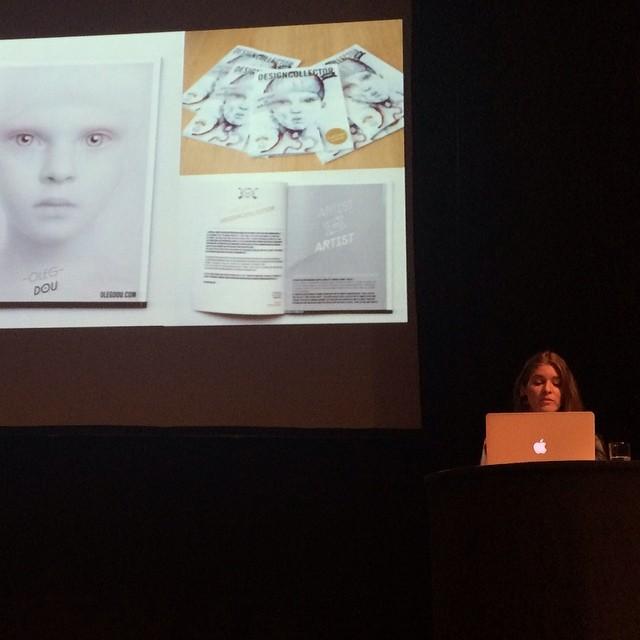 Sara Blake about Designcollector Magazine, FITC 2014