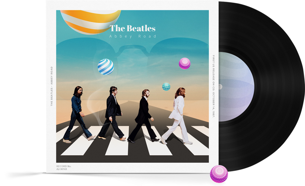 The Beatles, Abbey Road - Reimagined by Alex Norg