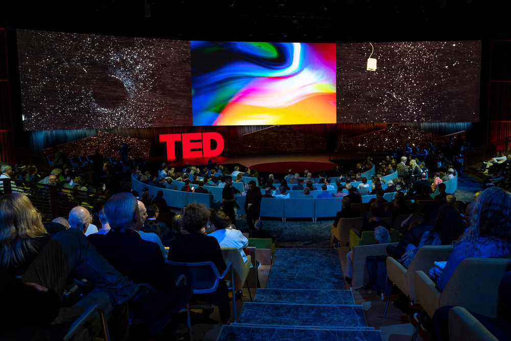 TED2018 - The Age of Amazement, April 10 - 14, 2018, Vancouver, BC, Canada. Photo: Ryan Lash / TED