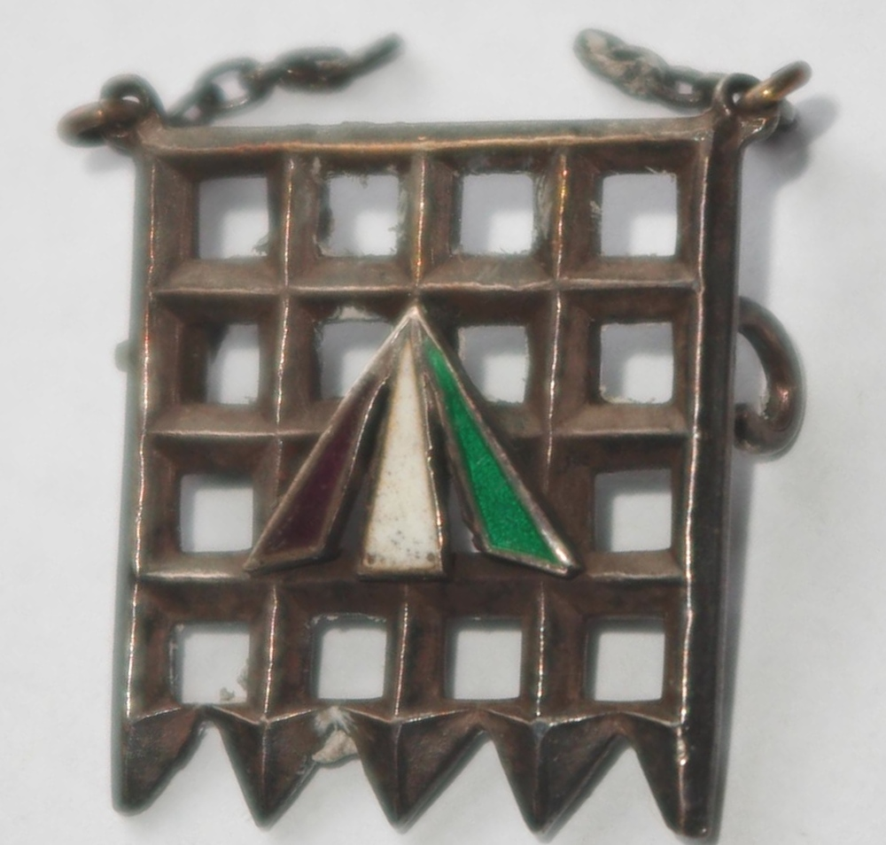 Designed by Sylvia Pankhurst, the Holloway brooch was awarded to members of the Women's Social and Political Union who had been imprisoned in Holloway Jail