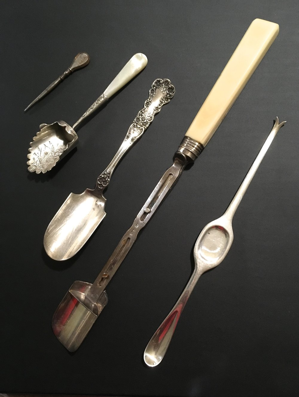 Scoops - the one on the left does not belong in the dining room