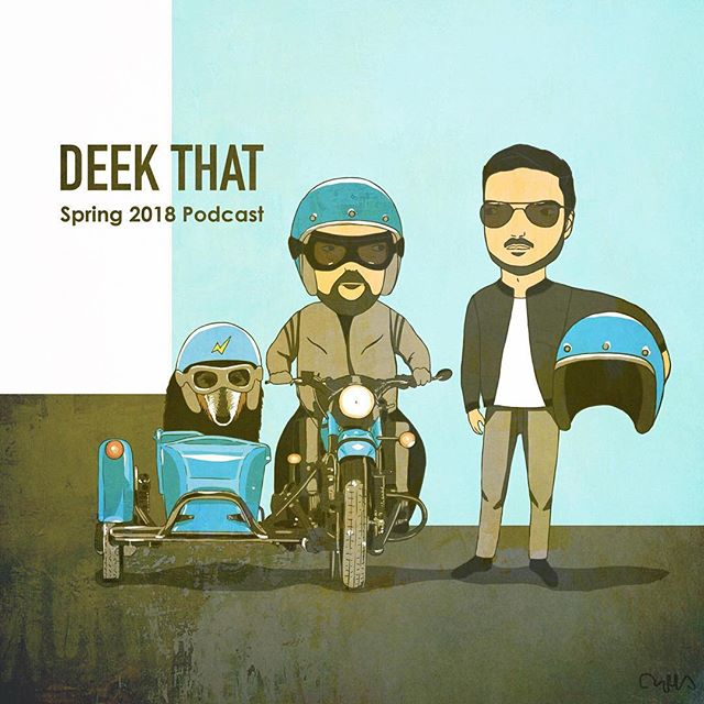 Spring 2018 Podcast is now available on souncloud.com/deekthat Cover art: Dina Surovtseva #deephouse #techhouse #progressive #electronica #deekthat #radioshowsonar #protechsoundaystem #techno
