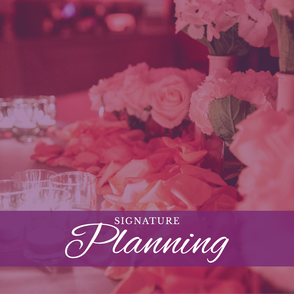 Pure Elegance Events - Signature Planning