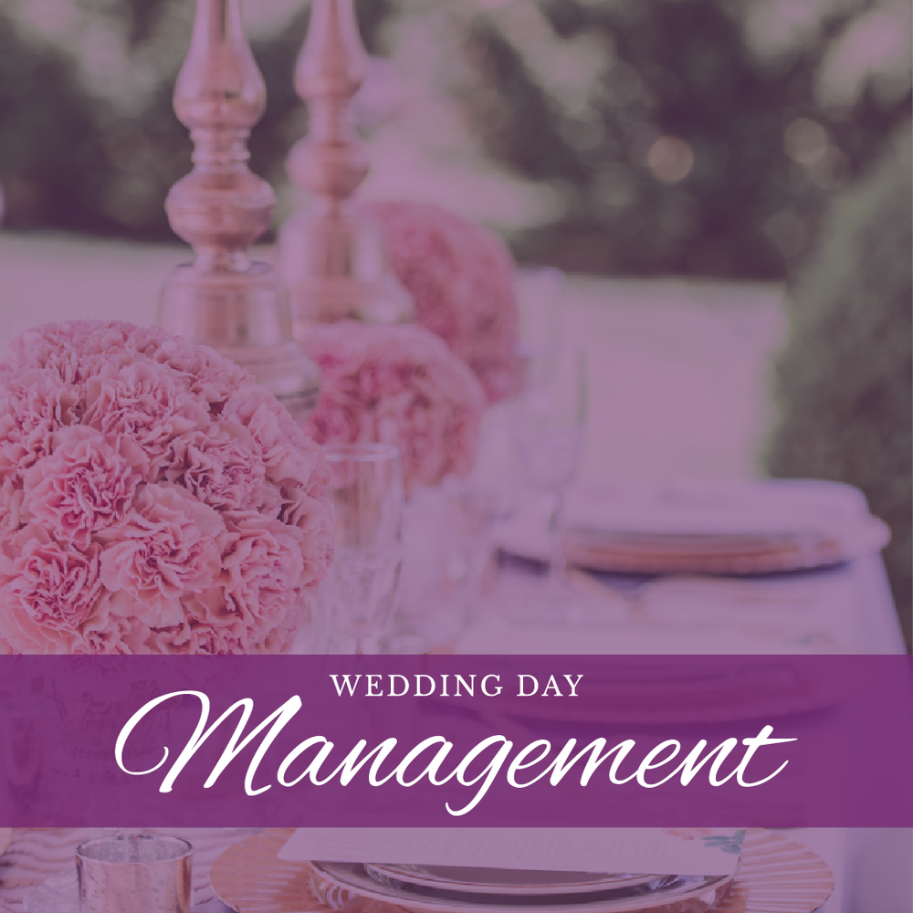 Pure Elegance Events - Wedding Day Management