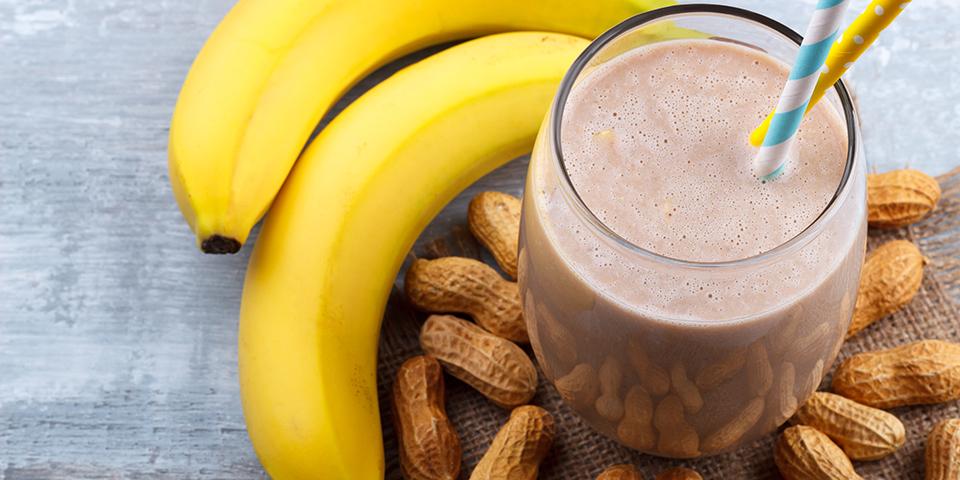Chocolate, Nut Butter, Banana Shake