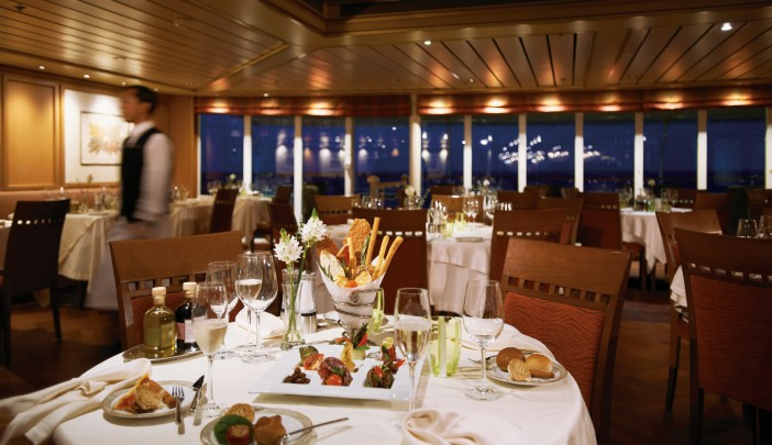 Dining room at La Terrazza