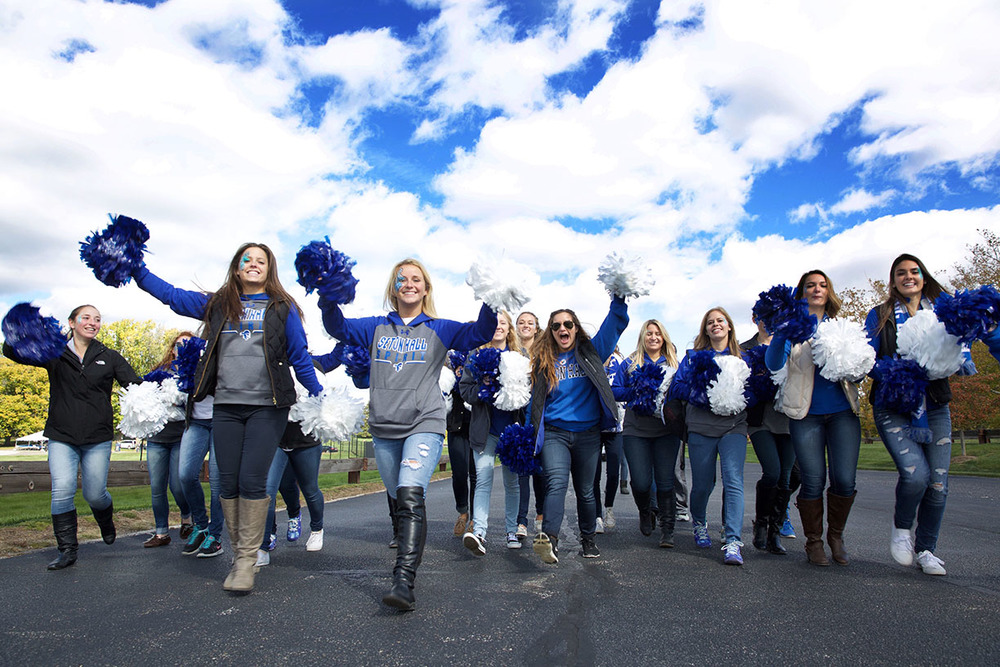 Autism Speaks Seaton Hall cheerleaders.jpg