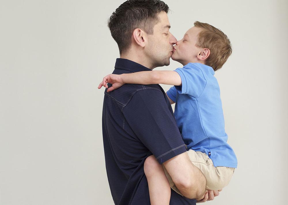 *Father son sweet Darien Connecticut love kiss.jpg