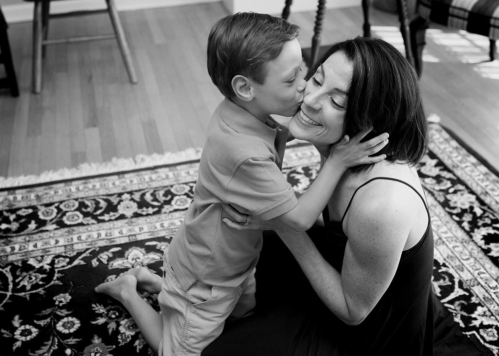 Black and white Mother and son at home photos.jpg