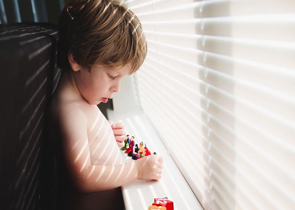 Blind and light little boy and superheros.jpg