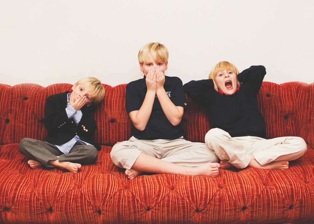 Boy siblings at home New Cannan family photographer.jpg