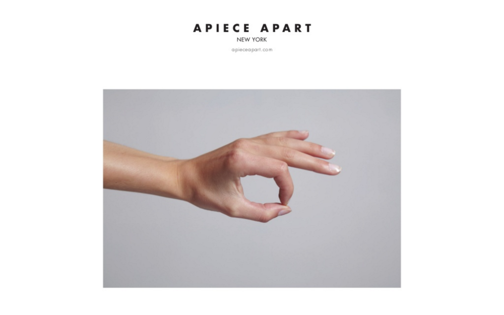 Direction, editing, concept for the Apiece Apart Gazette,  a printed periodical of original content inspired by the brand's seasonal collections /  photo by Robin Stein with story styling by Ashley Helvey.