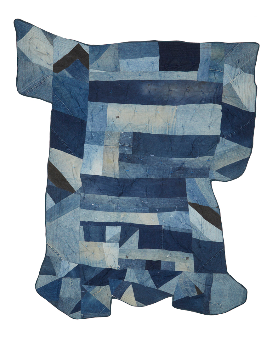 Denim Square Quilt