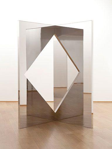 Jeppe Hein - Geometric Mirrors I, II, III