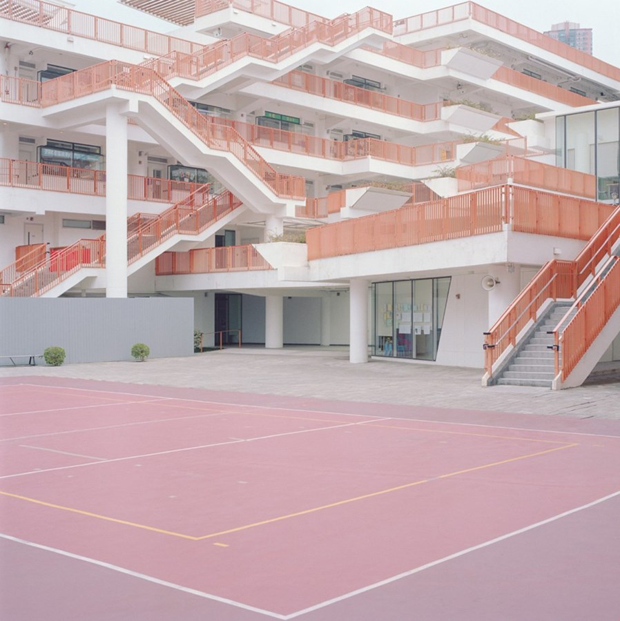Pastel-Hued Courts By Ward Roberts | photo series