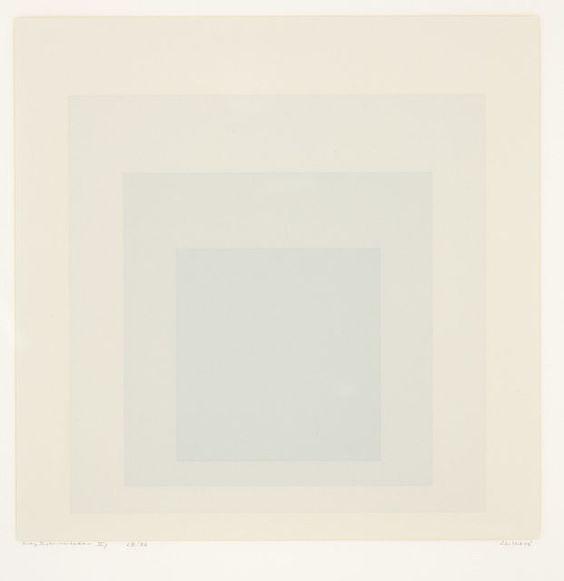 Josef Albers | Gray Instrumentation II, 1975
