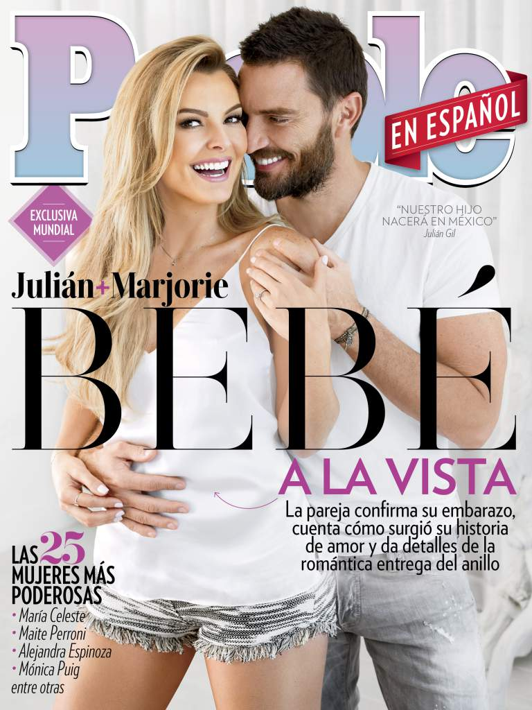 Marjorie De Sousa on the cover of People en Espanol in art dept. clothing