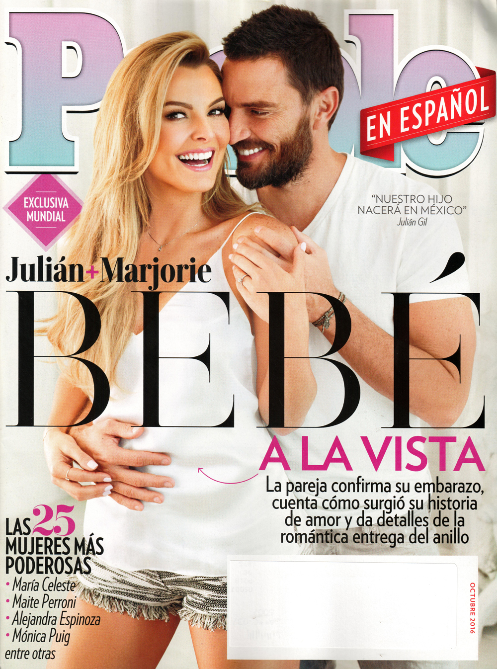People En Espanol Cover Featuring art dept.