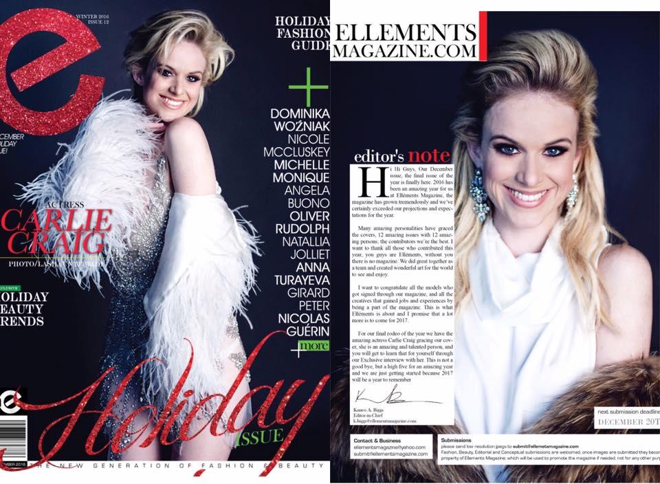 Charlie Craig Elléments Magazine