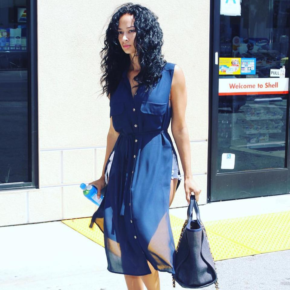 Draya Michele in the Remmie Tunic